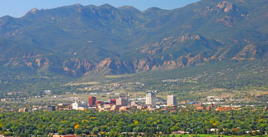 Luftaufnahme - Colorado Springs