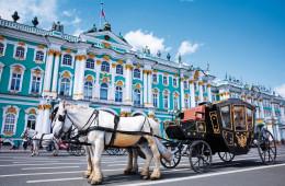 La route de l'ambre jusqu'à Saint-Pétersbourg