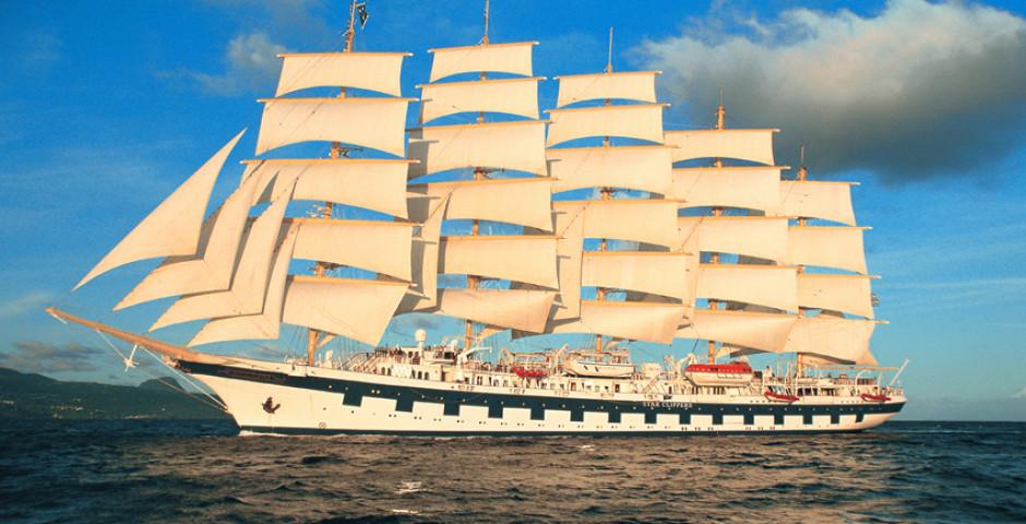 Segelabenteuer Korsika und Côte d´Azur an Bord der Royal Clipper