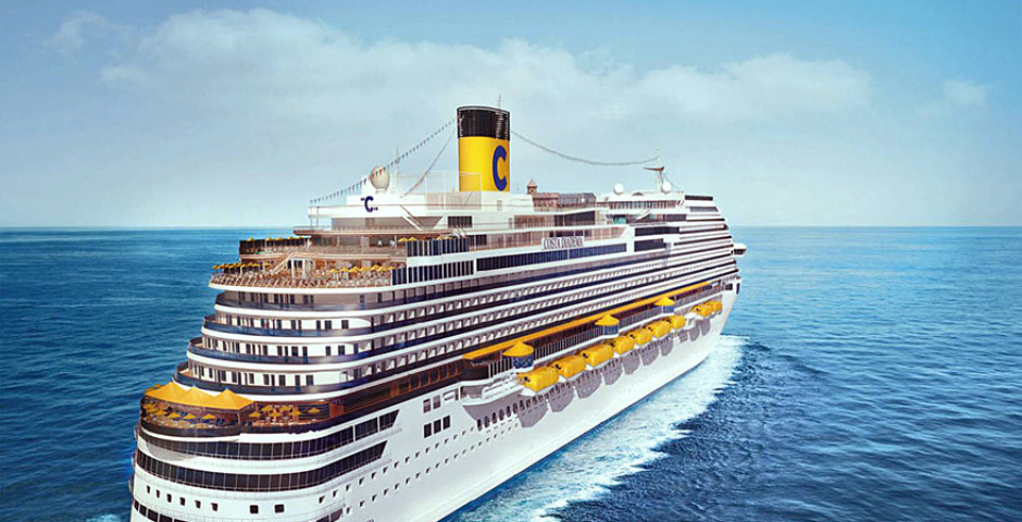 Grand Voyage in den Orient an Bord der Costa Diadema