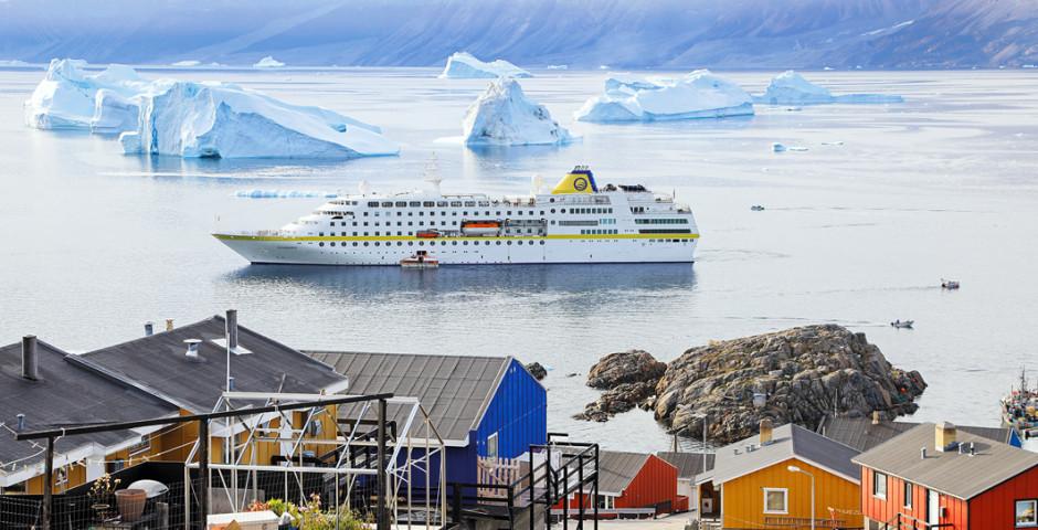 Grönland intensiv an Bord der MS Hamburg