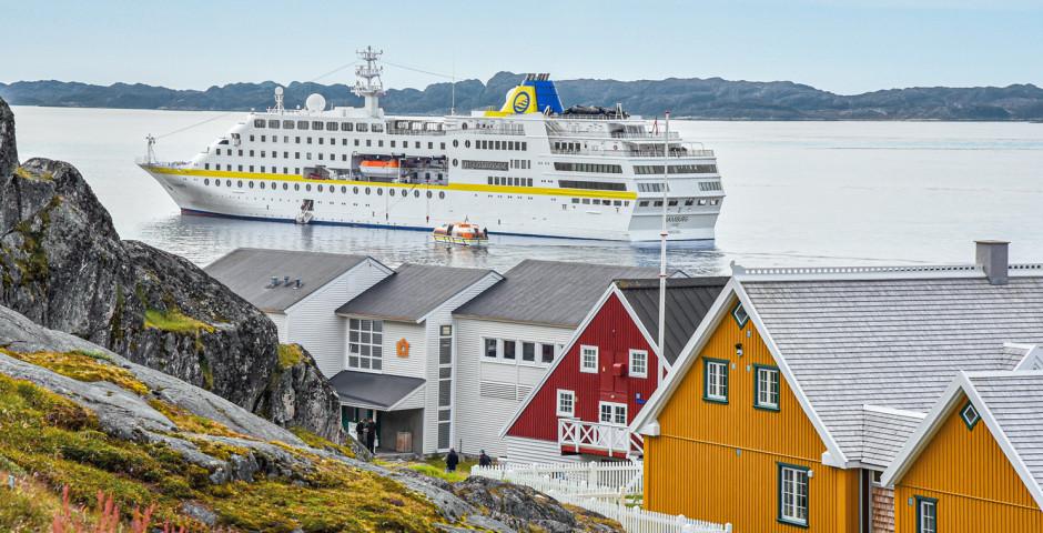 Grönland intensiv à Bord du MS Hamburg