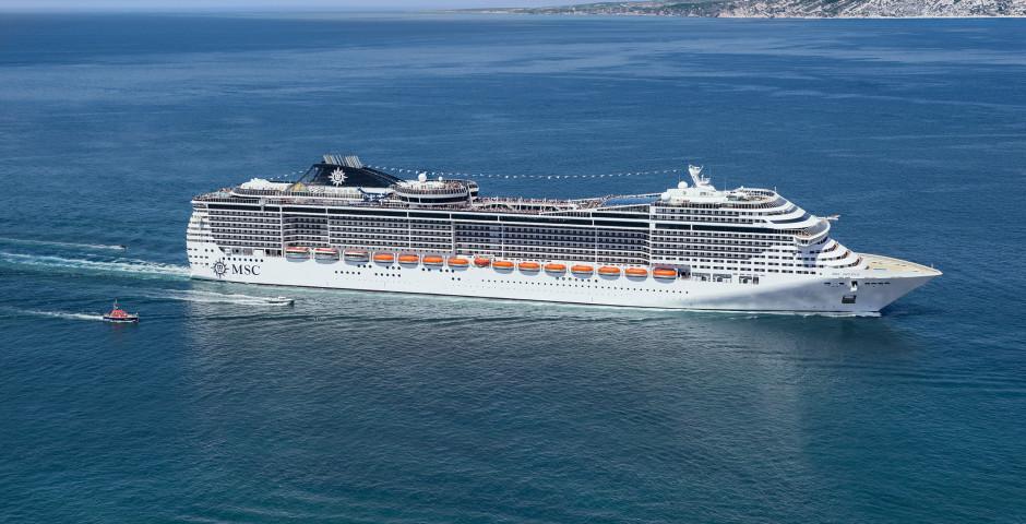 Grand Voyage nach Karibik und Florida an Bord der MSC Divina