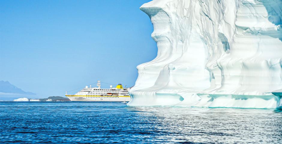 Der weisse Kontinent: Abenteuer Antarktis an Bord der MS Hamburg