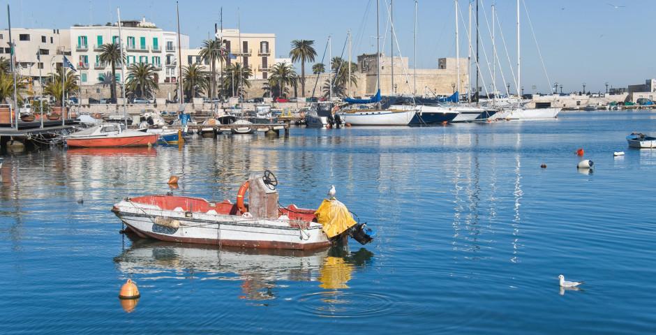 Bari - Kontrastreiches Apulien