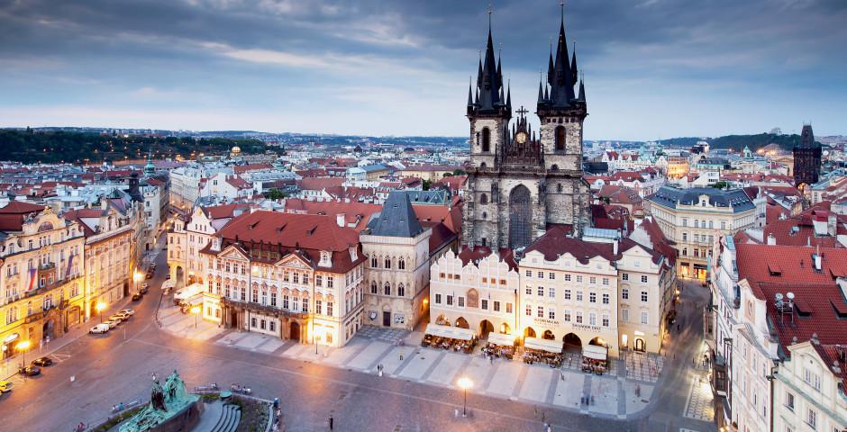 Féérie hivernale à Prague