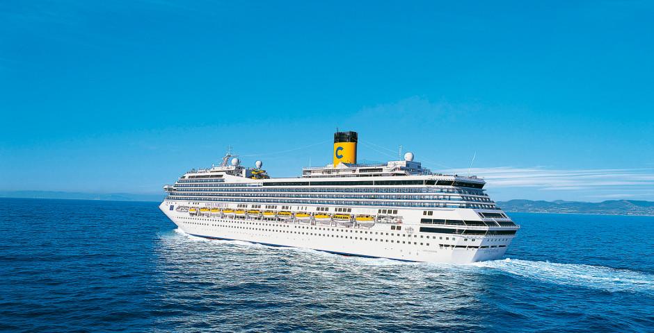 Croisière en Méditerranée occidentale à bord du Costa Pacifica