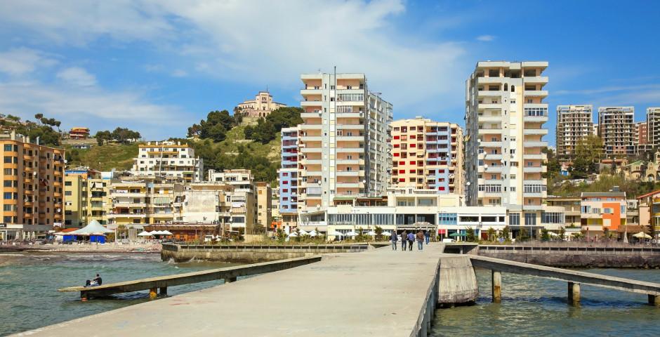 Promenade von Durrës