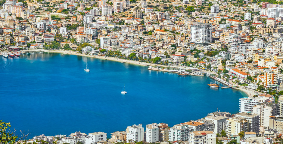Saranda am Ionischen Meer