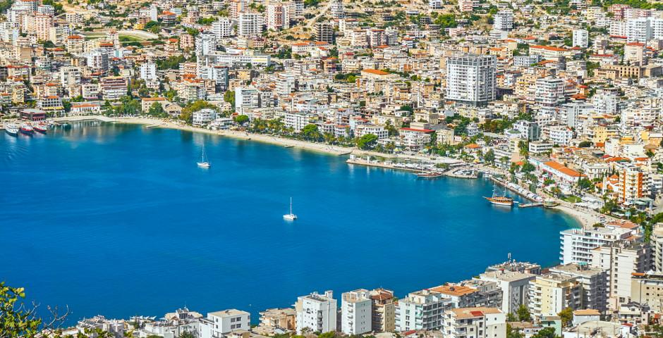 Saranda sur la mer Ionienne
