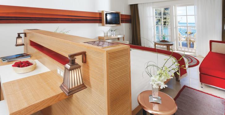 Doppelzimmer Deluxe Meersicht - Mövenpick Resort & Spa El Gouna