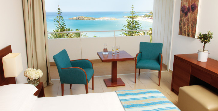 Chambre double vue mer - Nissi Beach Resort