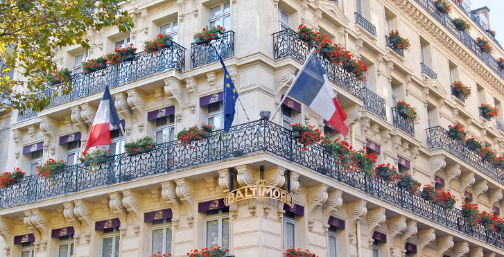 Baltimore paris mgallery collection paris vacances migros for Liste des hotels a paris