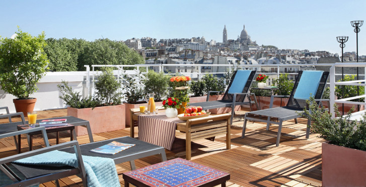 Citadines montmartre paris paris vacances migros for Liste des hotels paris