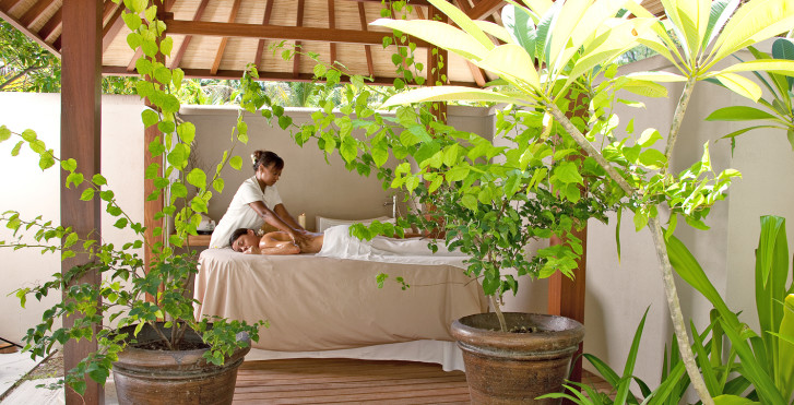 Cottage Beachfront Spa - Denis Private Island