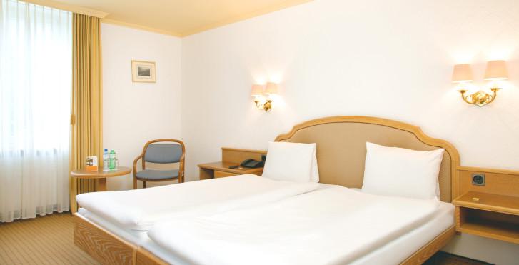 Chambre double - Thermalhotels & Walliser Alpentherme (ex. Heliopark Hotels & Alpentherme)
