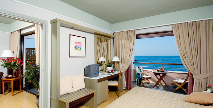 Doppelzimmer Suite - Porto Platanias Beach Resort