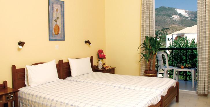 Doppelzimmer - Hotel Sirocco