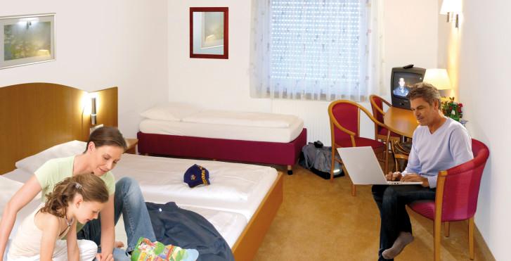 chambre standard - Hôtel Sun Parc - incl. entrée parc