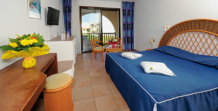 Exemple chambre double - Thalacap Camargue - hôtel