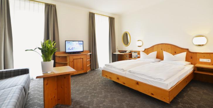 Doppelzimmer Sonnjoch - Krumers Post Hotel & Spa
