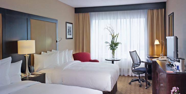 City View-Zimmer - Hilton Québec