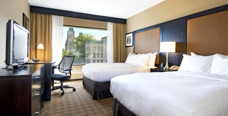 City View Room 2 Double - Hilton Québec