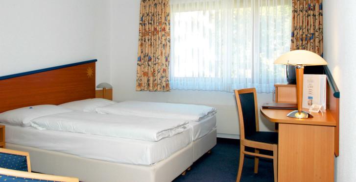 Chambre double Confort - Turmhotel Victoria