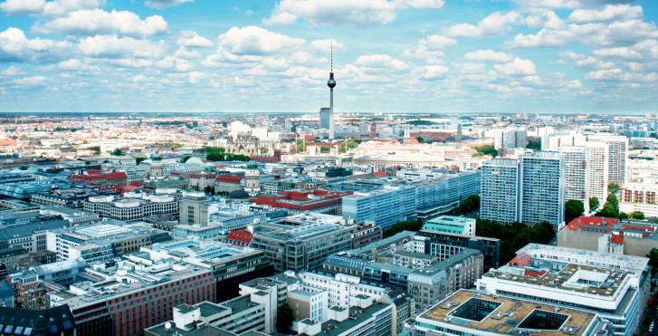 Luftaufnahme Berlin, Deutschland