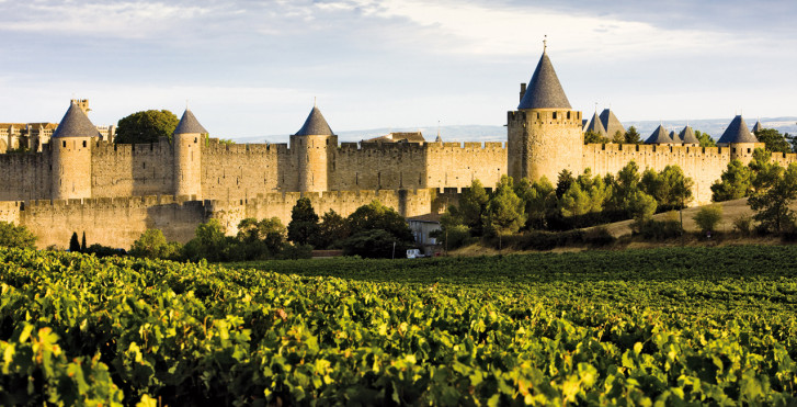 Cité von Carcassonne, Frankreich