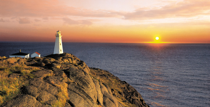Leuchtturm in Neufundland, Kanada