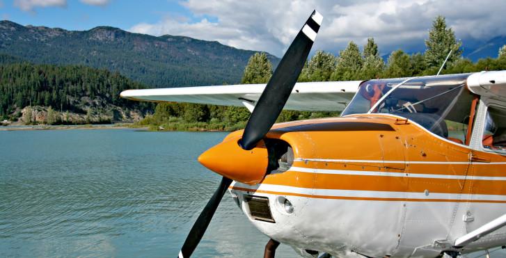 Propellermaschine für Rundflüge, Kanada