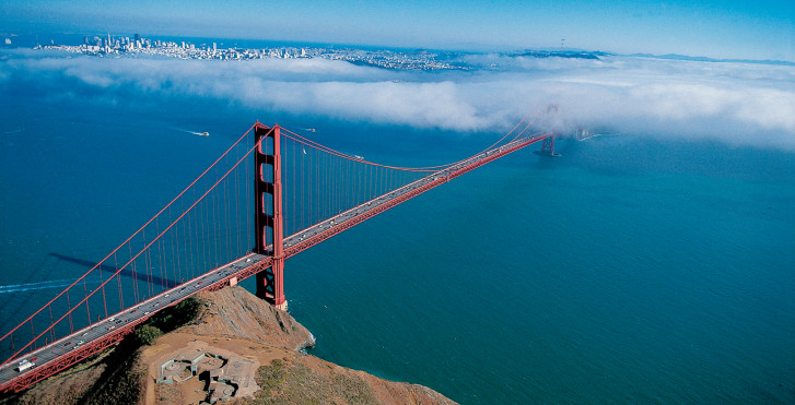 Golden Gate Bridge, San Francisco - USA