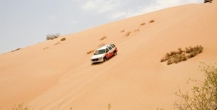 Circuit désert en 4x4, Émirats arabes unis