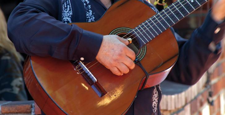 Strassenmusikant, Spanien