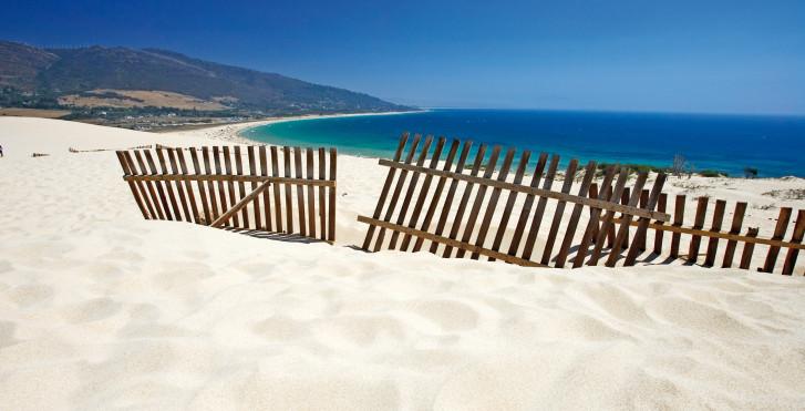 Traumhafter Sandstrand, Spanien