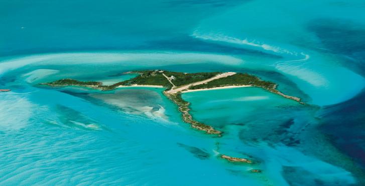 Luftaufnahme, Bahamas