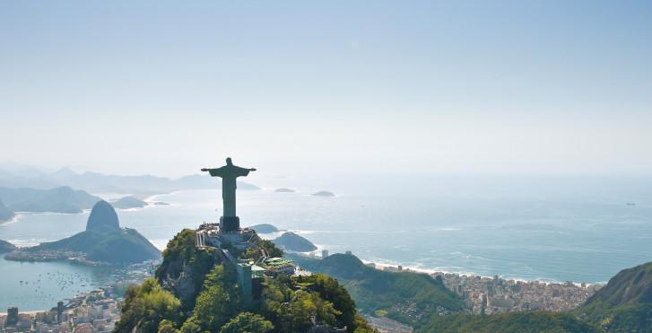 Cristo Redentor à Rio de Janeiro, Brésil