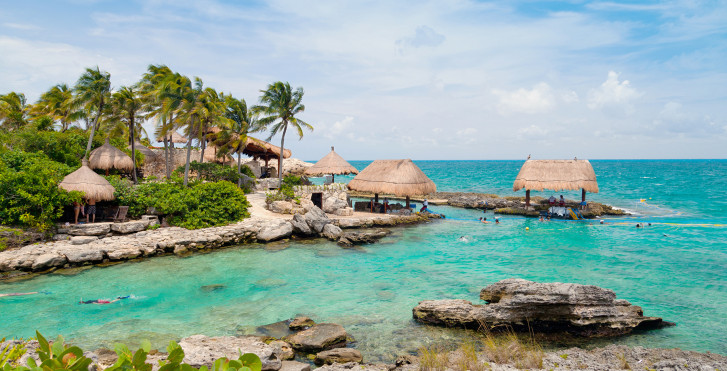 Plage de rêve en Cancun