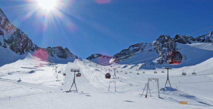 Domaine skiable Stubai glacier