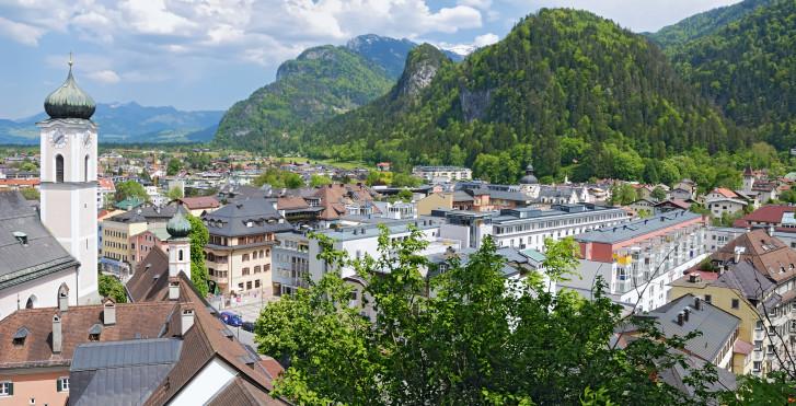 Vue sur Kufstein