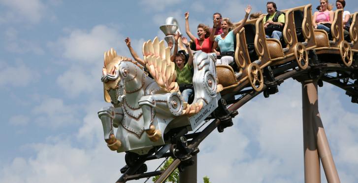 """Pegasus - YoungStar Achterbahn"" im Europa-Park"