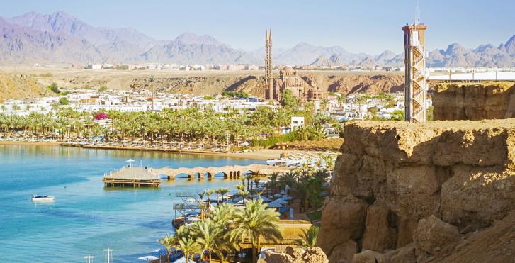 Sharm el-Sheikh von oben