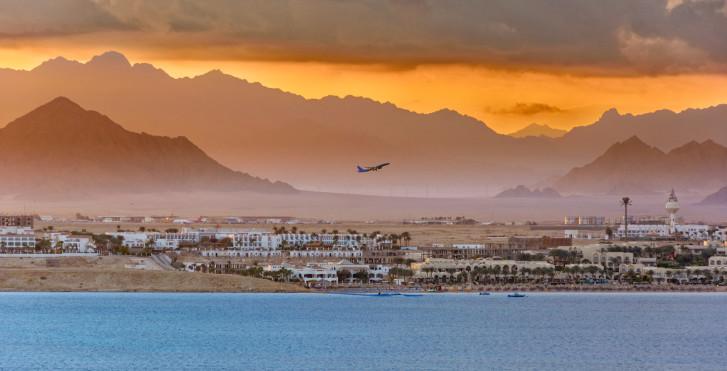 Sharm el-Sheikh mit Sicht aufs Hinterland