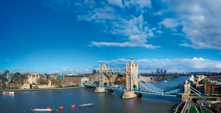 Londres vue d'en haut