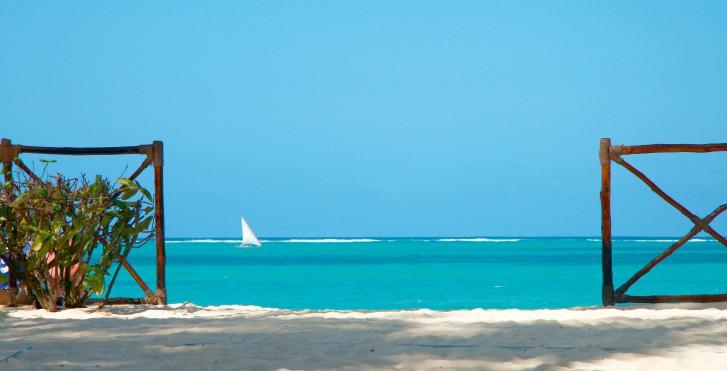 Mer bleu turquoise, Mombasa