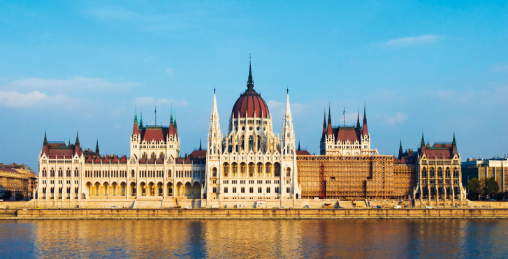 Parlamentsgebäude, Budapest