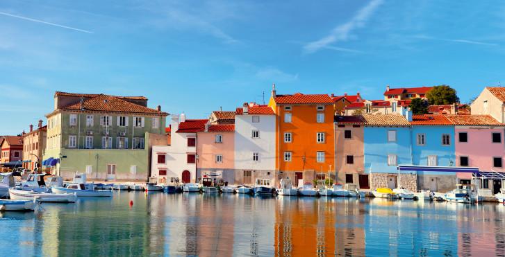 Vieille ville d'Istrie