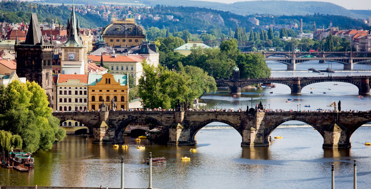 Ponts à Prague