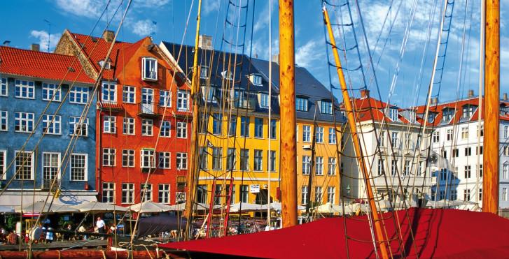 Nyhavn, nouveau port, Copenhague